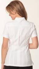 M8636 Women's Zip Front Tunic - Back